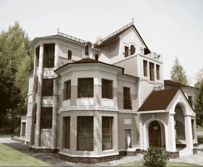 Biệt thự theo phong cách cổ điển 4