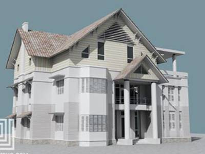 Biệt thự theo phong cách cổ điển 5