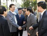 Thủ tướng Nguyễn Tấn Dũng: Đẩy nhanh tuyến đường bộ và đường sắt Hà Nội-Hải Phòng