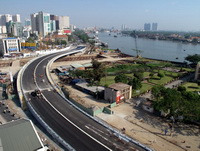 Khánh thành cầu Khánh Hội trước ngày đón giao thừa