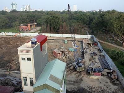 Không thể vin vào bối cảnh dự án mà xây khách sạn 1