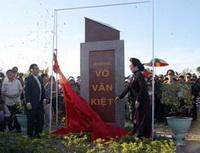 Đặt tên đường Võ Văn Kiệt tại khu đô thị mới Vạn Tường
