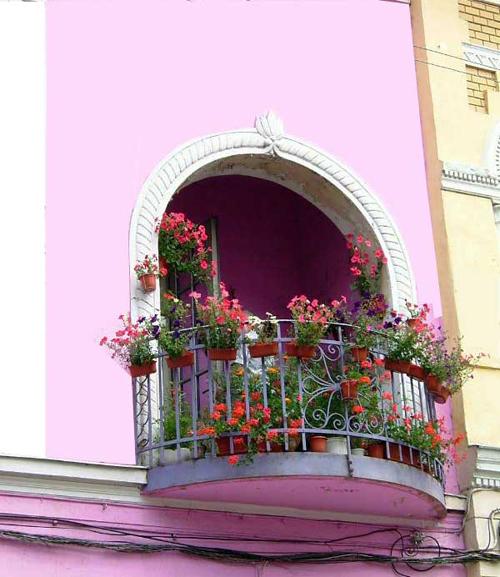 Ban công đẹp cho nhà phố