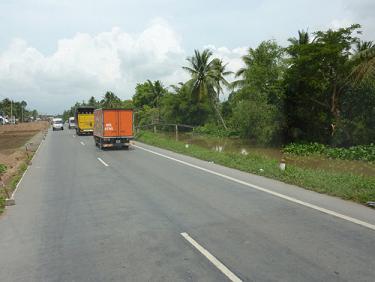 Hoàn thành cải tạo 20km Dự án mở rộng QL1 đoạn Mỹ Thuận - Cần Thơ