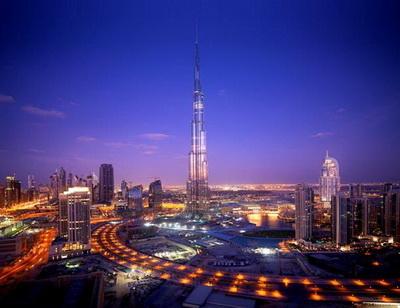 Toà tháp cao nhất thế giới – Buji Khalifa