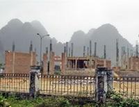 Đình chỉ xây dựng trụ sở Trung tâm du lịch Phong Nha