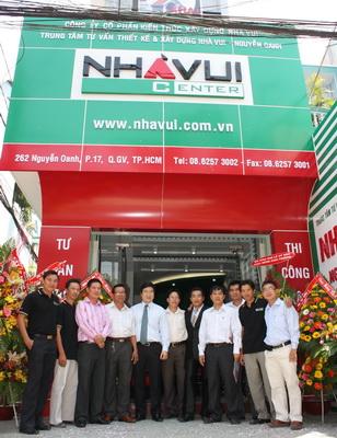 Nhà Vui Group: khai trương chi nhánh mới