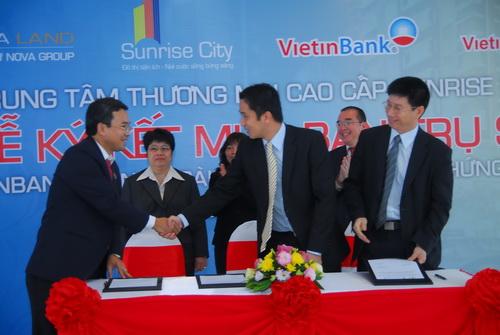 Vietinbank và Viettinbank SC đặt trụ sở chi nhánh tại Sunrise City