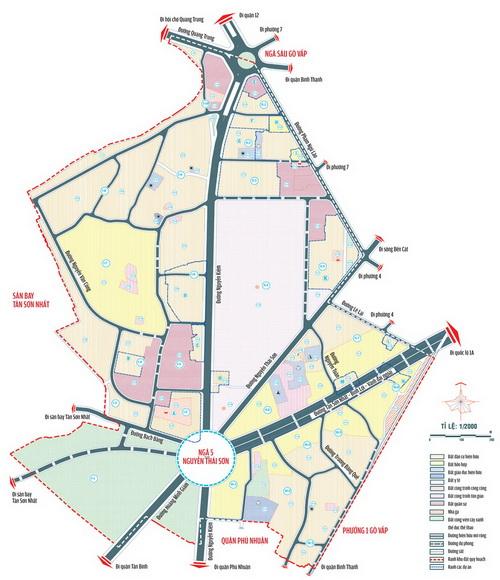 Khu dân cư phường 3, quận Gò Vấp