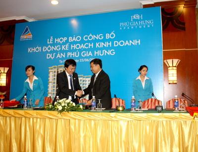 """Công bố """"Khởi động kế hoạch kinh doanh dự án Phú Gia Hưng"""""""