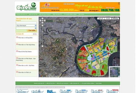 Ra mắt Map.DiaOcOnline.vn