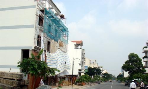 Khu R, S, H Phú Mỹ Hưng: gần 97% nhà vi phạm xây dựng