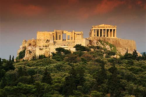 Athens và những công trình kiến trúc vĩ đại của nhân loại