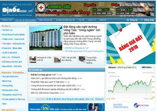 DiaOcOnline.vn: Tiện lợi hơn với tính năng và dịch vụ mới