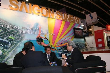 Saigon SunBay: Giới thiệu dự án đến các nhà đầu tư tại Mipim Asia 2010
