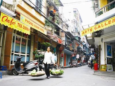 Chỉnh trang phố Tạ Hiện thế nào?