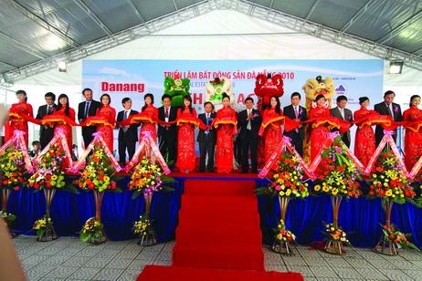 Khai mạc triển lãm bất động sản Đà Nẵng 2010