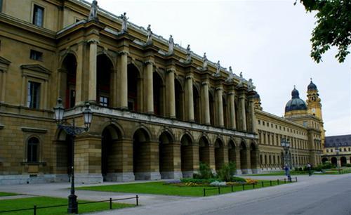 Munich - kho tàng di sản kiến trúc