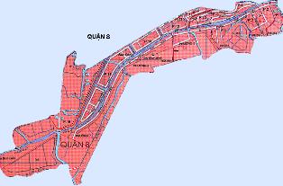 Điều chỉnh Quy hoạch chung xây dựng quận 8 đến năm 2020
