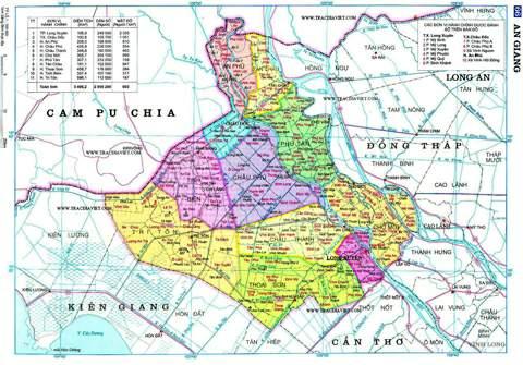 An Giang: Giá đất cao nhất 30 triệu đồng/m2