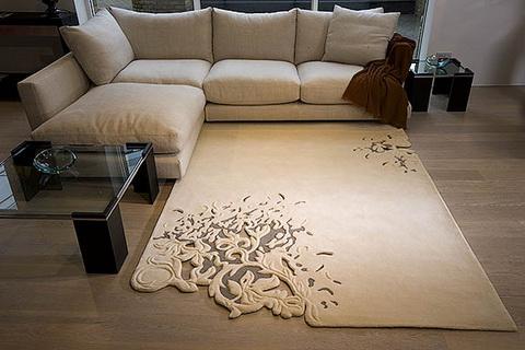 Làm đẹp phòng với thảm trang trí