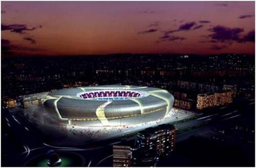 Phần 1: 10 sân vận động có kiến trúc đẹp nhất thế giới