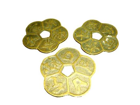 Ý nghĩa của các đồng tiền xu cổ trong phong thủy