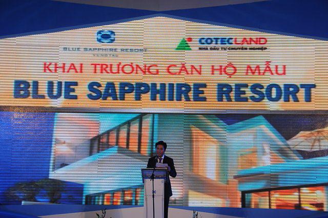 Ra mắt khu căn hộ cao cấp thuộc dự án Blue Sapphire Resort Vũng Tàu