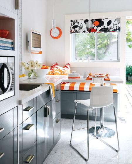 Bố trí nội thất cho căn bếp nhỏ