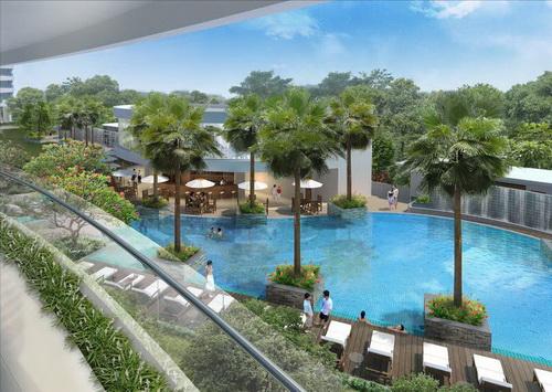 City Garden: Không gian resort giữa thành phố