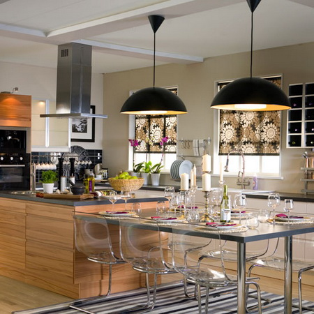 Thêm sự quyến rũ trong không gian bếp