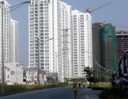Giá căn hộ đang chựng lại?