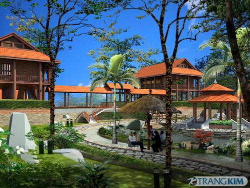 Kiến trúc nhà gỗ hiện đại