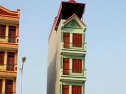 Sẽ thu hồi đất nhà siêu mỏng, siêu méo tại Hà Nội