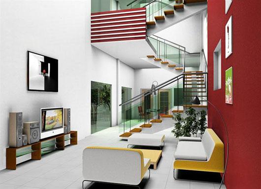 Tiêu chí thiết kế cầu thang nhà phố cao tầng