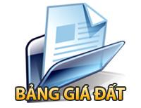 Bảng giá đất Hà Tĩnh 2012