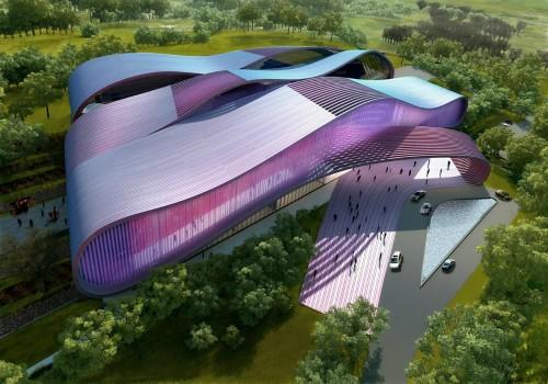 Kiến trúc độc đáo của bảo tàng phim Bollywood
