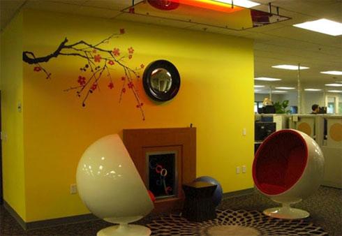 Trụ sở rực rỡ của Google qua con mắt Google