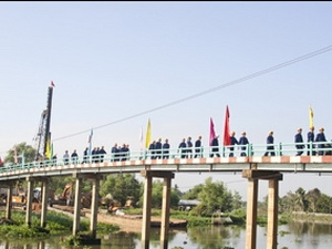 Bình Dương: Trên 92 tỷ đồng xây dựng cầu Bà Lụa