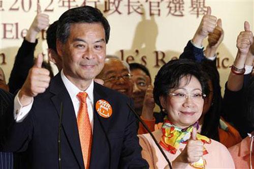 Doanh nhân địa ốc làm trưởng Đặc khu hành chính Hong Kong