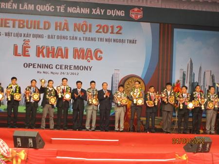 Vietbuild 2012 tại Hà Nội