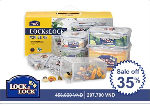 Siêu tiết kiệm với Lock&Lock khuyến mãi 55%.