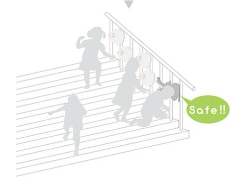 Cầu thang an toàn cho trẻ mà vẫn đẹp