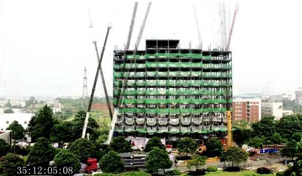 Những tòa nhà xây nhanh nhất thế giới