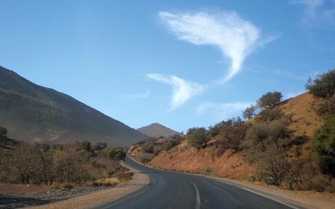Những đám mây có hình thù kỳ lạ