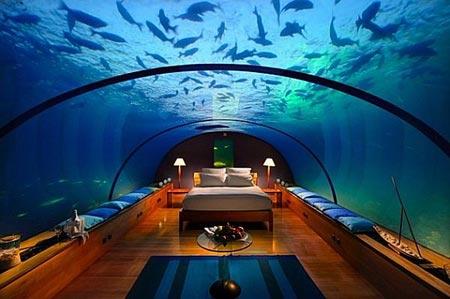 Khám phá khách sạn siêu xa xỉ dưới nước tại Dubai
