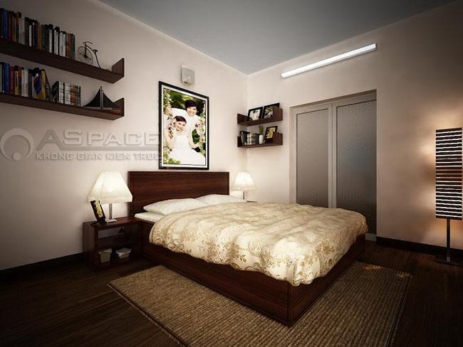 Làm sang căn hộ 37m2 bằng nội thất đồ gỗ