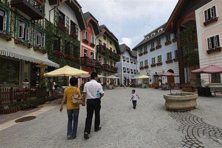 """Ngôi làng di sản Áo bị """"nhái"""" ở Trung Quốc"""