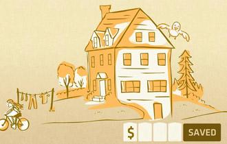 Mua nhà bằng tiền lẻ