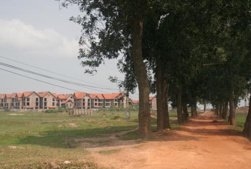 Hoang hóa nhà đất Mê Linh